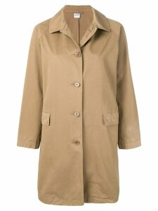Aspesi button fastened trench coat - Brown