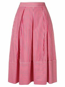 Société Anonyme striped midi skirt - Red