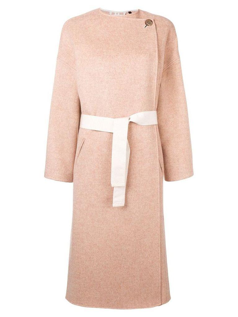 Isabel Marant Felton belted coat - Neutrals
