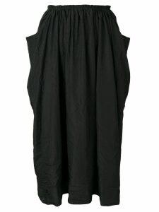 Comme Des Garçons Comme Des Garçons drapey skirt - Black