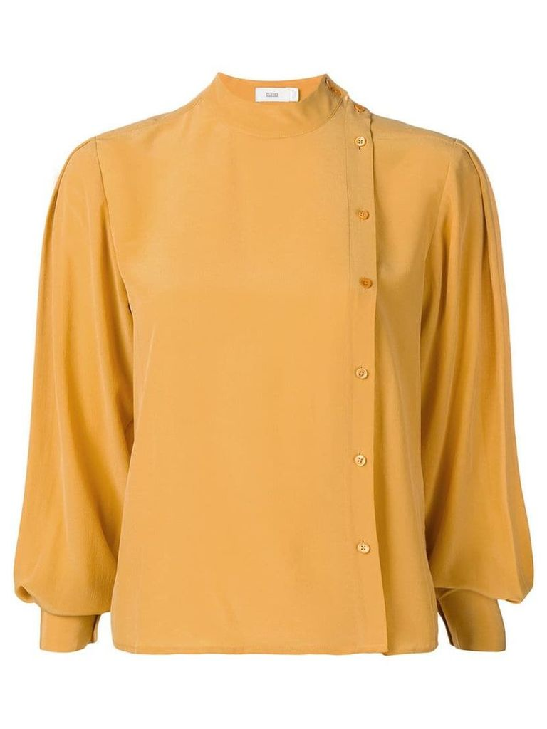 Closed high neck blouse - Yellow 445