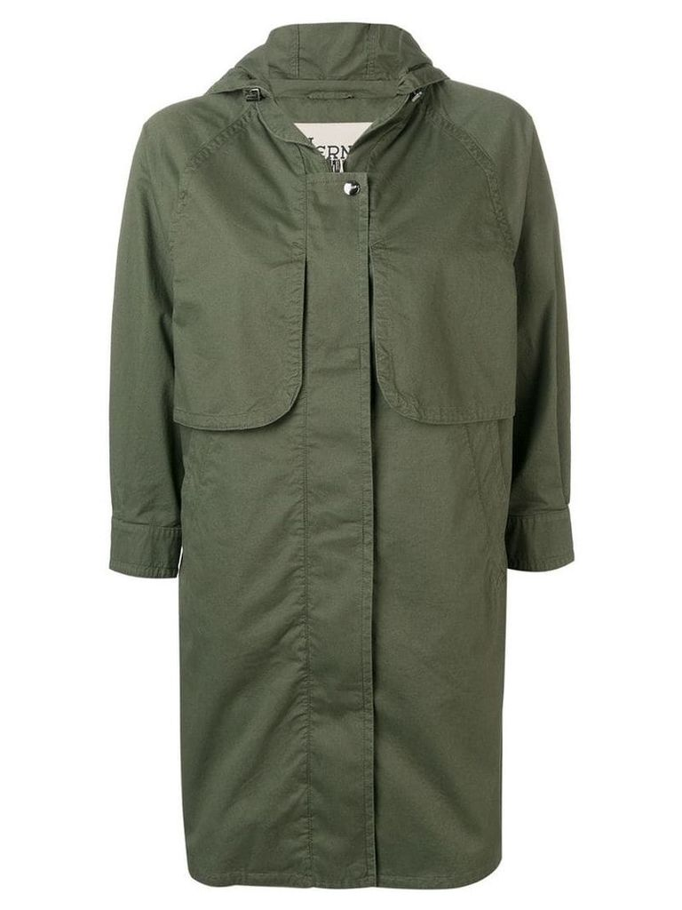 Herno 3/4 sleeve coat - Green