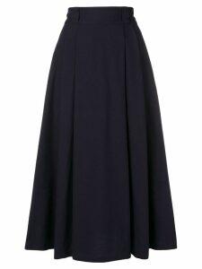 Société Anonyme A-line midi skirt - Blue