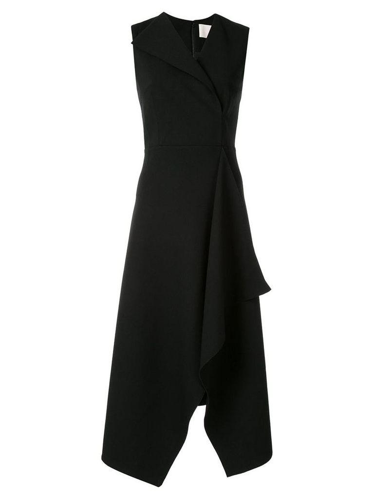 Dion Lee folded sail dress - Black