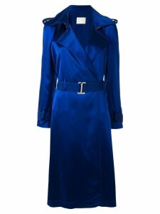 Dion Lee trench midi dress - Blue