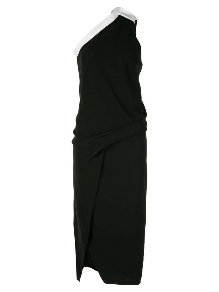 Bianca Spender Athena one-shoulder dress - Black