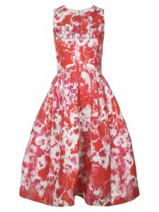 Carolina Herrera floral print dress - White
