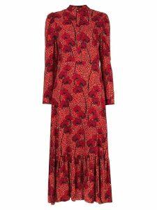 Borgo De Nor Rafaela printed dress - Red
