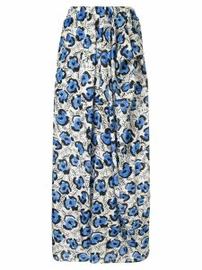 Christian Wijnants Soraya printed skirt - White