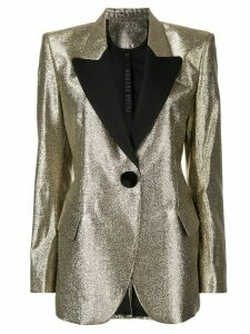 Petar Petrov slim-fit blazer - Gold