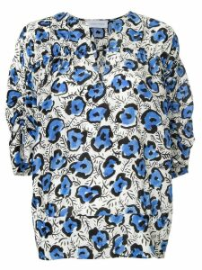 Christian Wijnants loose-fit printed blouse - White