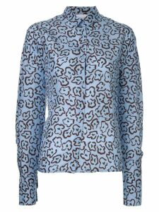 Christian Wijnants loose-fit printed shirt - Blue