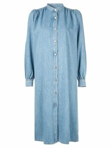 Ganni denim shirt dress - Blue