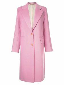 Joseph single-breasted coat - Pink