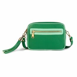 PAISIE - Striped Double Breasted Blazer With Adjustable Sleeves With Self Belt In Dusty Pink And White