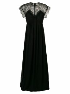 Giambattista Valli lace cap sleeve dress - Black