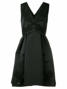 Zuhair Murad embroidered flared dress - Black