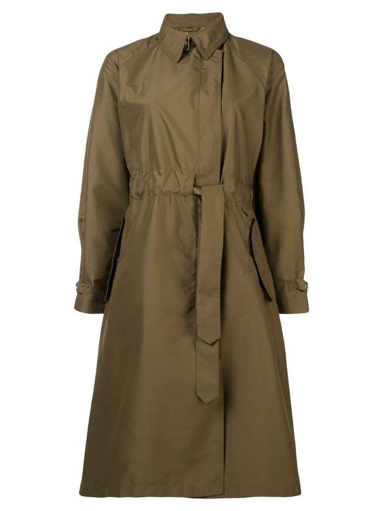 Fay drawstring waist coat - Green