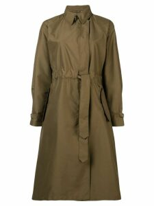Fay drawstring waist coat - Green