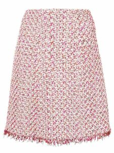 Giambattista Valli tweed skirt - Pink