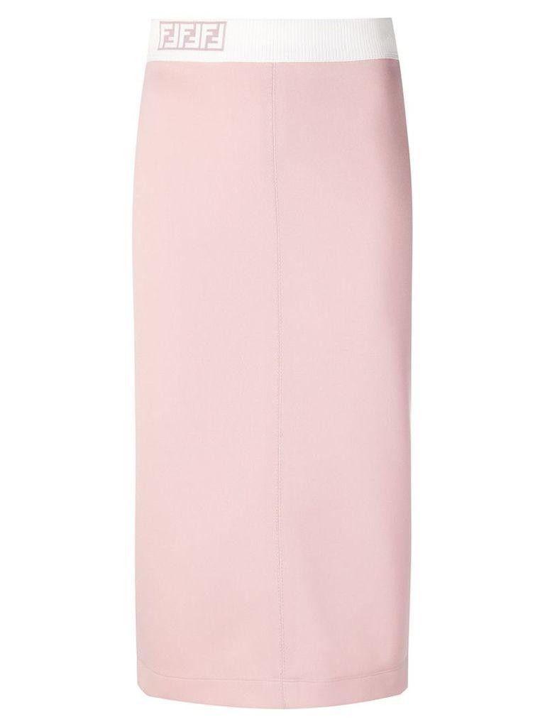 Fendi pencil skirt - Pink