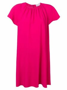 Red Valentino smock dress - Pink