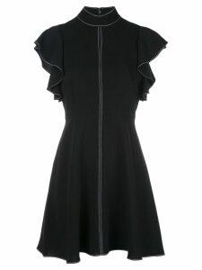 Cinq A Sept Reiko topstitch dress - Black