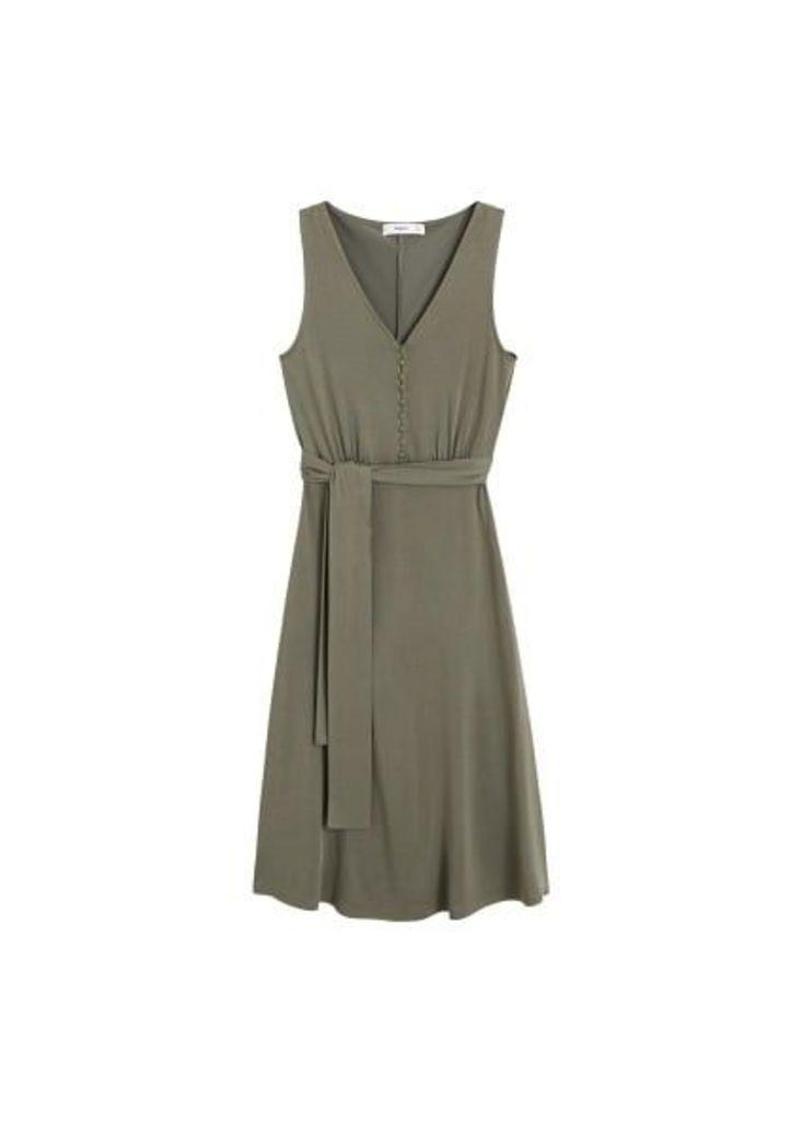 Bow modal dress