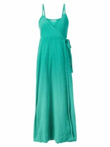 Lanvin Pre-Owned wrap style front dress - Green