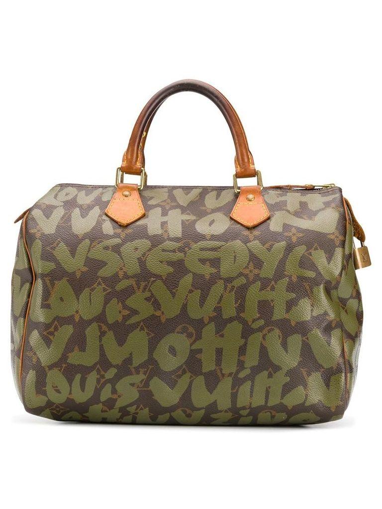 Louis Vuitton Vintage 2001's Graffiti Speedy bag - Green
