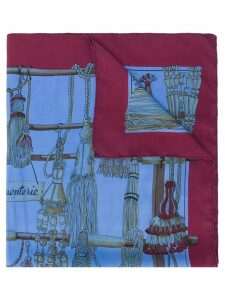 Hermès Pre-Owned 2000's Pasementerie scarf - Blue