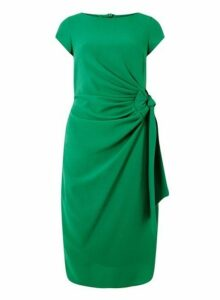 Womens **Lily & Franc Green Bodycon Dress- Green, Green