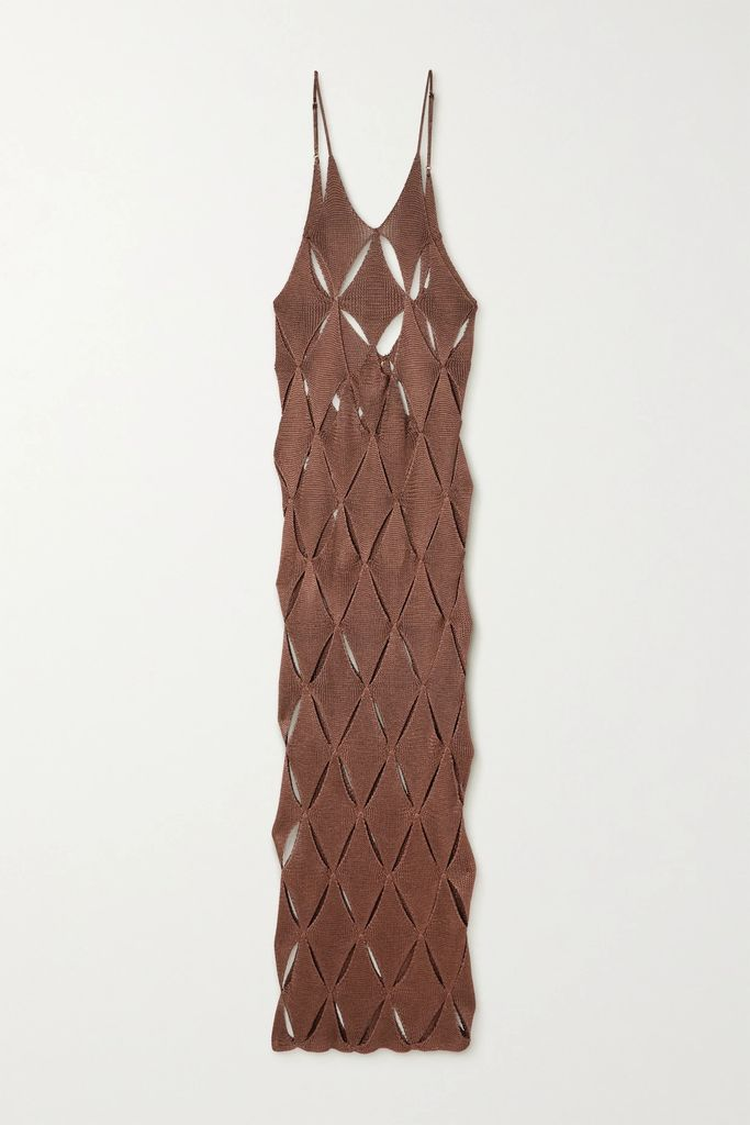 LOW CLASSIC - Cropped Wool-blend Blazer - Navy