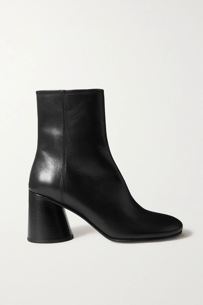 James Perse - Ribbed Stretch-cotton Midi Skirt - Black