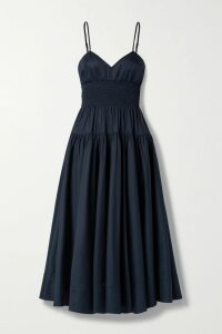 CASASOLA - Ribbed Stretch-knit Dress - Blush