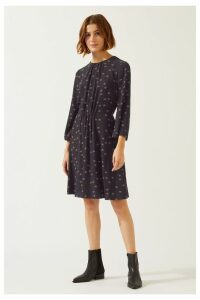 Womens Jigsaw Black Dailia Tea Dress -  Black