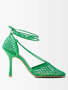 A.p.c. - Josephine Cotton Blend Trench Coat - Womens - Navy