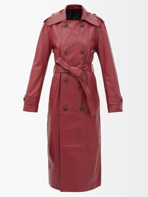 Giambattista Valli - Bow Trim Guipure Lace Cotton Blend Coat - Womens - Black