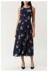 Womens Hobbs Blue Carly Dress -  Blue
