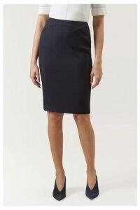 Womens Hobbs Blue Kora Skirt -  Blue