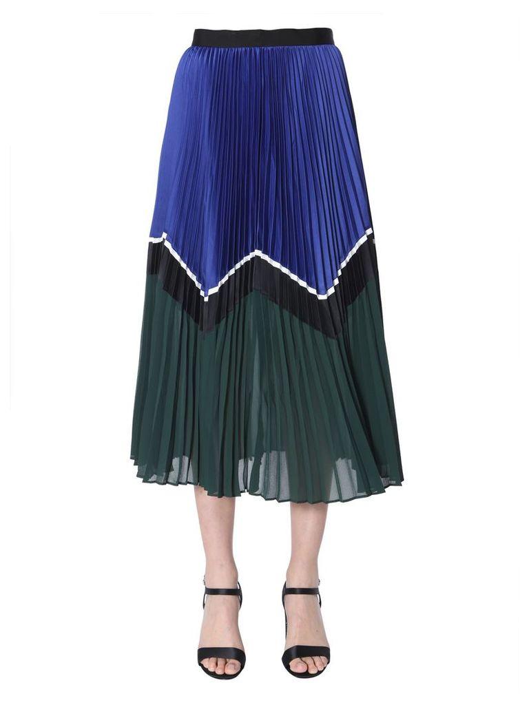 self-portrait Midi Skirt