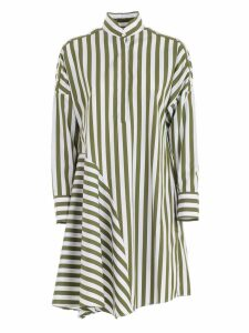 Akris Punto Flared Shirt Dress