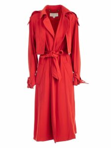 MICHAEL Michael Kors Draped Trench