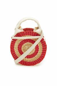 Muu ± Rosm Woven Straw Bag