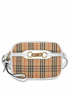 Burberry The 1983 Check Link Bum Bag with Leather Trim - Neutrals