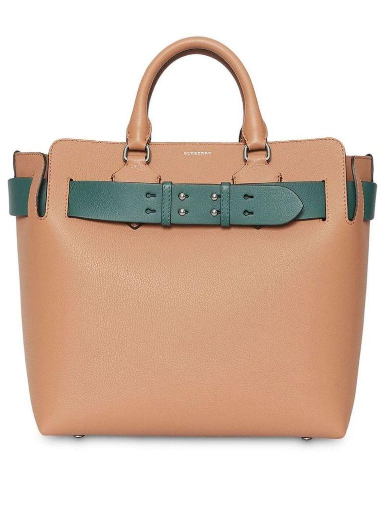 Burberry The Medium Leather Belt Bag - Brown