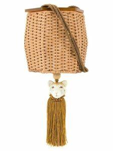Waiwai Rio Fauna crossbody bag - Brown