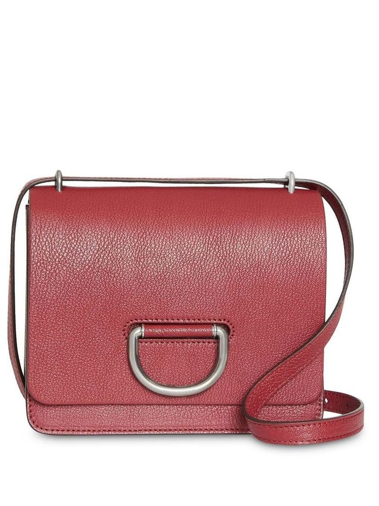 Burberry The Small Leather D-ring Bag - Red