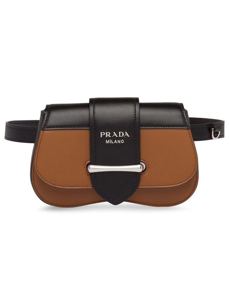 Prada Prada Sidonie leather belt-bag - Brown