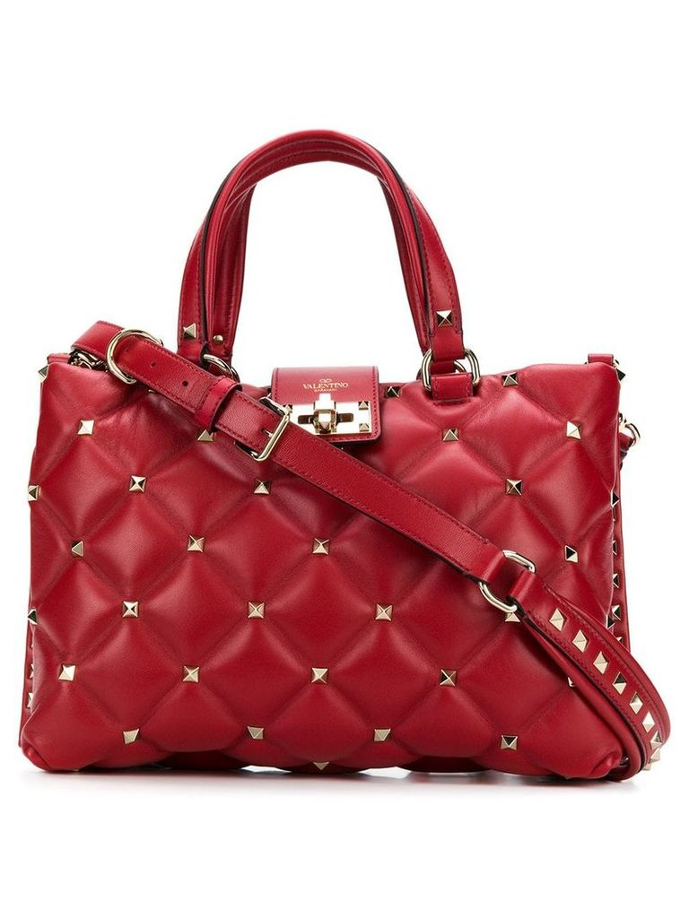 Valentino Valentino Garavani Candystud tote - Red